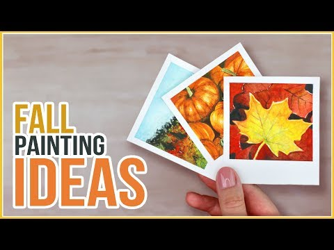 Fall Inspired Painting Ideas // Get Hyped for Autumn!