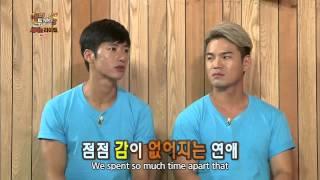 130925 Oh Jonghyuk talks about his girlfriend (Soyeon)