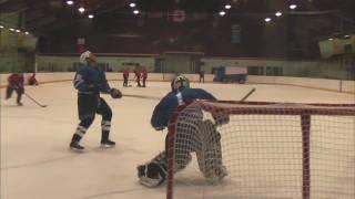 Hardest hockey shot ever!!!!