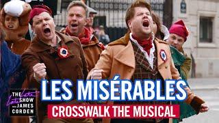 Crosswalk the Musical in Paris - Les Misérables - #LateLateLondon