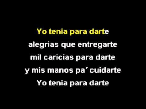 Tiempo al Tiempo - Los Kjarkas karaoke