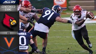Louisville vs. Virginia Condensed Game | 2020 ACC Football