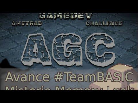 Avance Amstrad GameDev Challenge #04: #TeamBASIC misterio memory leak