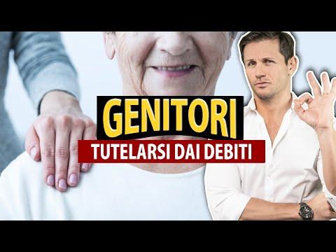Come tutelarsi da DEBITI e spese di GENITORI ANZIANI | Avv. Angelo Greco