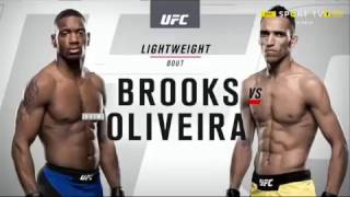 UFC 08.04.17 Will Brooks VS Charles Oliveira