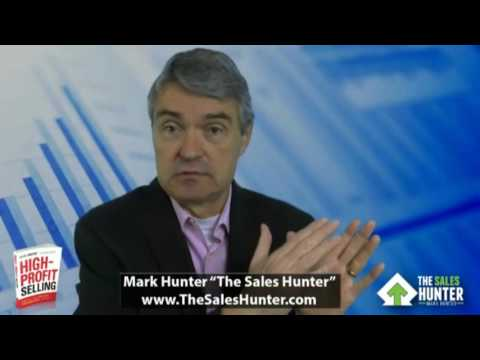Mark Hunter   Qualify Faster to Spend More Time with Better Prospects