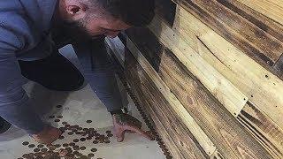 Không đủ tiền lát nền, anh thợ tóc quyết định đổi 20 triệu đồng tiền xu và điều tuyệt vời xảy ra