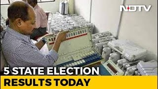 Assembly Election Results 2018 - 5 State Election Results Today In Semi-Final Before 2019