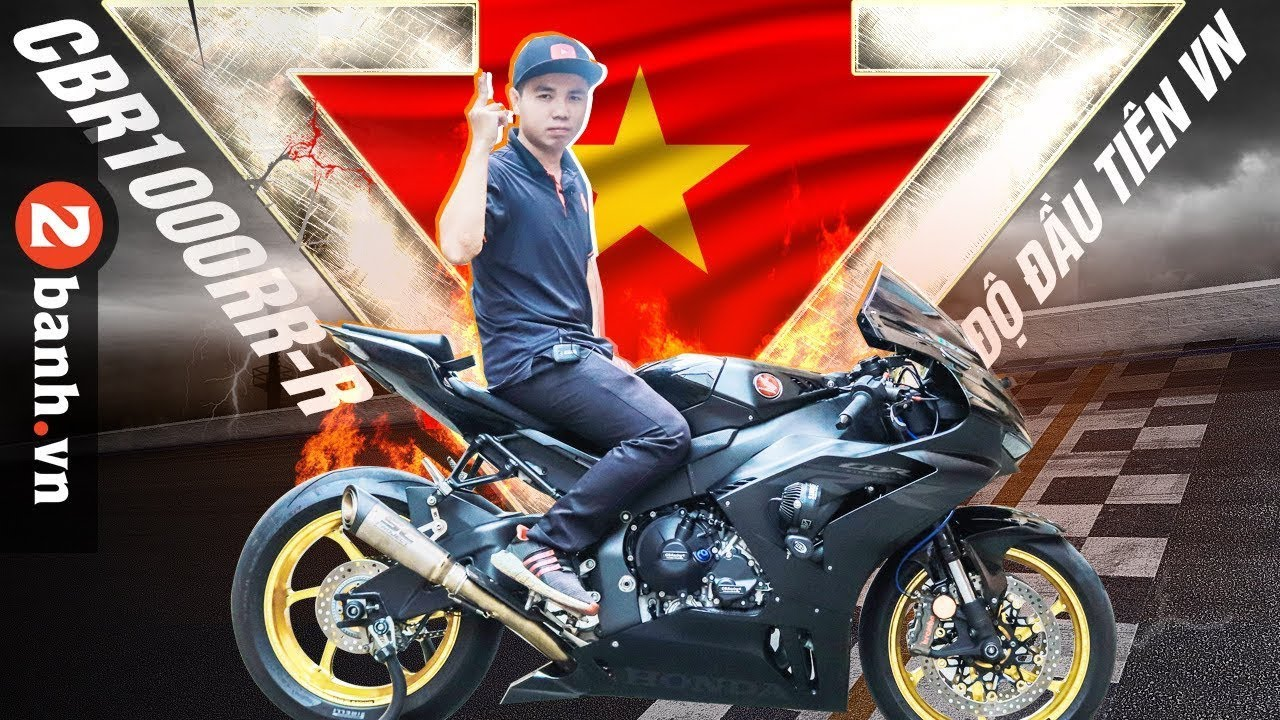 Xuất hiện CBR 1000RR-R độ KHỦNG đầu tiên tại Việt Nam I 2banh Review