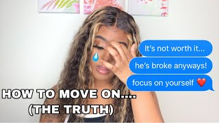 How To Get Over A Bad Breakup (THE REAL TRUTH)