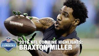 Braxton Miller (Ohio State, WR) | 2016 NFL Combine Highlights