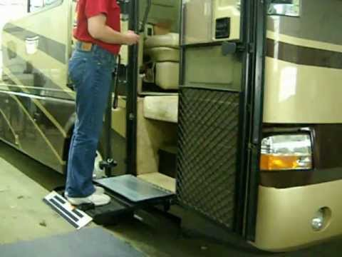 Rv Lift On A Class A Motor Home By Burr Engineering Youtube