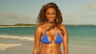 Tyra Banks Is Back on the Cover of SI Swimsuit at Age 45