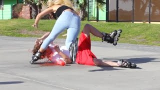 Falling With Paige Ginn In Public