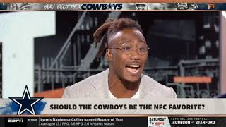 Stephen A. ARGUMENTATIVE Marshall: Show the Cowboys be the NFC favorite? | ESPN FIRST TAKE