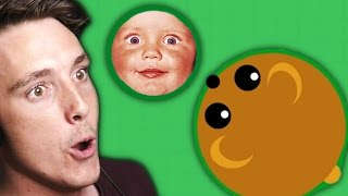 EATING FANS AND BABIES! (Mope.io)