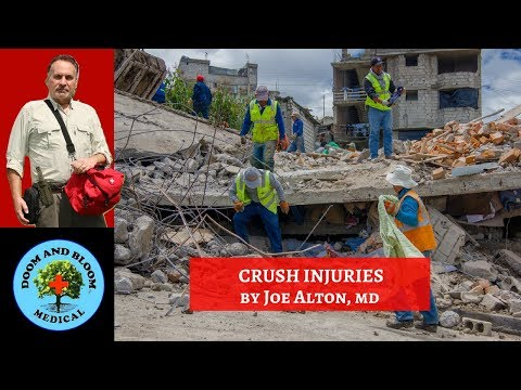 Crush Injuries: Emergency Management and Complications