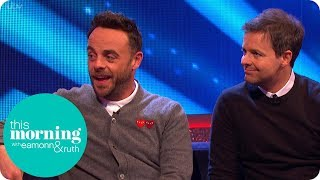 Ant & Dec's Saturday Night Takeaway is a 'Dream Come True'   This Morning