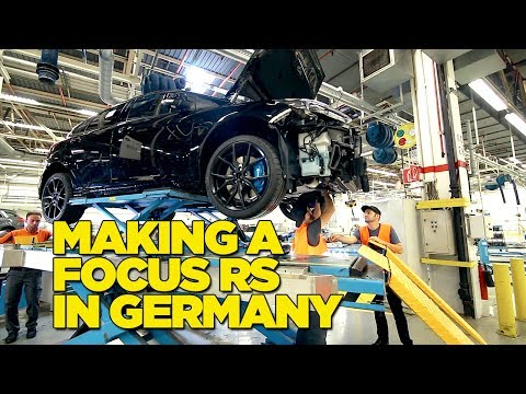 Making A Ford Focus RS In Germany