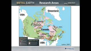 8- Metal Earth: An Integrated 4D Metallogenic Study Focused on Canadian Shield- John Ayer, 2017