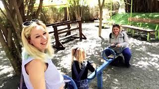 Милана нашла курицу с волосами в Ботаническом саду в Израиле  Парк Утопия.  Орхидеи. Поющие фонтан.