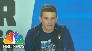 Cameron Kasky on March for Our Lives: 'We Are The Change' | NBC News