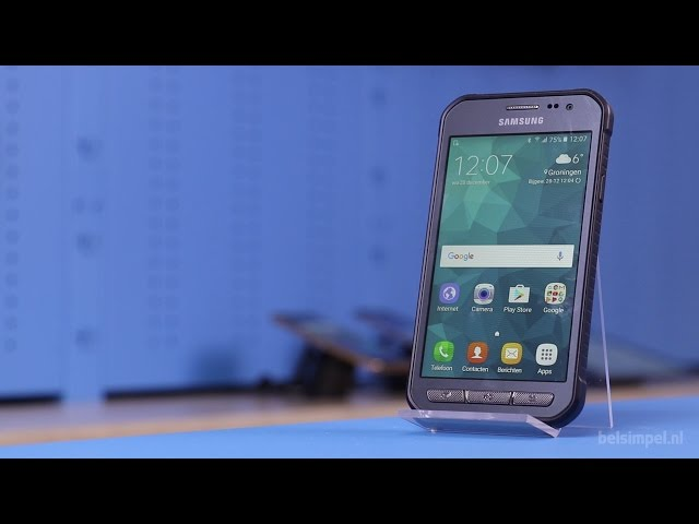 Belsimpel.nl-productvideo voor de Samsung Galaxy Xcover 3 VE G389F Dark Silver