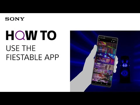How to use the Fiestable App