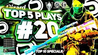 Top 5 Plays #20 (BEST ALL-NOSCOPES CLIP!?) *TOP 10 SPECIAL* @DareShort