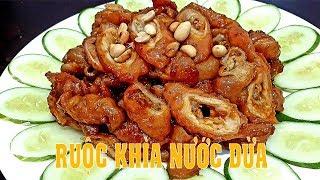 Cách KHÌA RUỘC HEO NƯỚC DỪA ngon hấp dẫn by Hồng Thanh Food