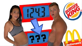 WHO CAN GAIN THE MOST WEIGHT IN 24 HOURS! *Eating Challenge*