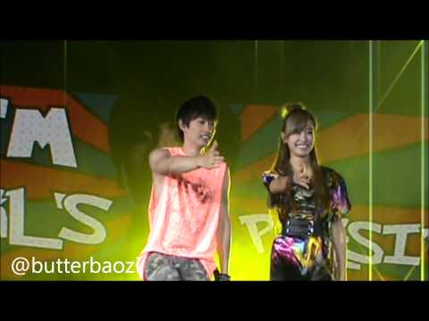[FANCAM] 220912 Super Junior feat f(x) - Oops (Eunhae Focus) SMTOWN Indonesia