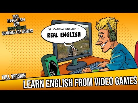 Learn English Through Playing Popular Video Games