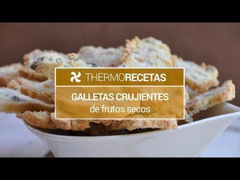 Galletas crujientes de frutos secos