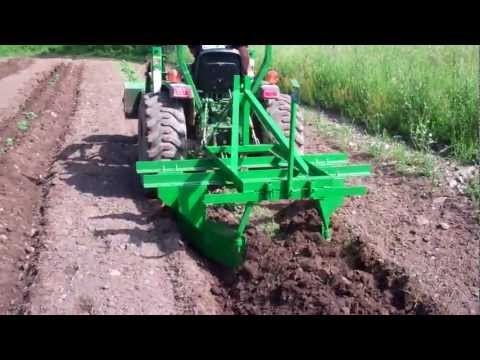 how to use a one row cultivator