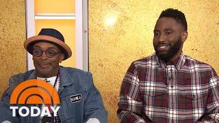 Spike Lee And John David Washington Talk About Filming 'BlacKkKlansman' | TODAY