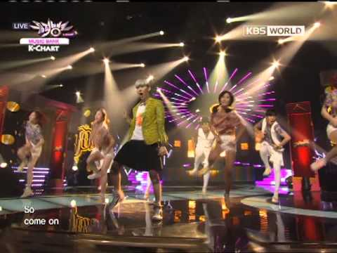 [Music Bank K-Chart] Jo Kwon - I'm Da One (2012.06.29)