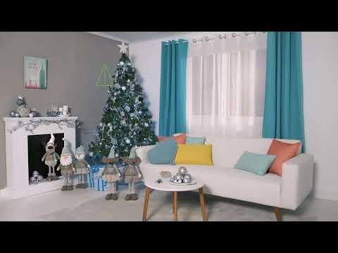 Tendencia navideña azul y plata – LEROY MERLIN