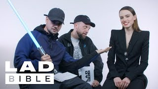 Kurupt FM Interviews Star Wars: The Last Jedi's Daisy Ridley On Lightsabers, Grime and Wiley