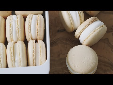 우유 마카롱 만들기 Milk Macarons | 한세 HANSE