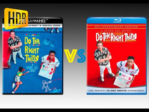 ▶ Comparison of Do The Right Thing 4K (4K DI) HDR10 vs Regular Version