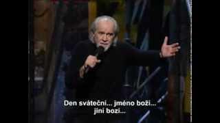 George Carlin - Desatero (české titulky)