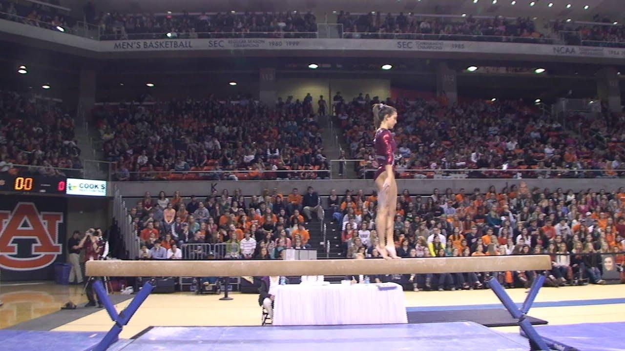 alabama vs auburn gymnastics meet 2013