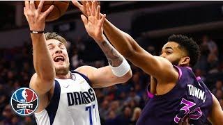 Luka Doncic's clutch 29 points leads Mavericks vs. Karl-Anthony Towns, Timberwolves | NBA Highlights