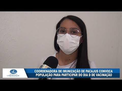 COORDENADORA DE IMUNIZAÇÃO DE PACAJUS CONVOCA POPULAÇÃO PARA PARTICIPAR DO DIA D DE VACINAÇÃO