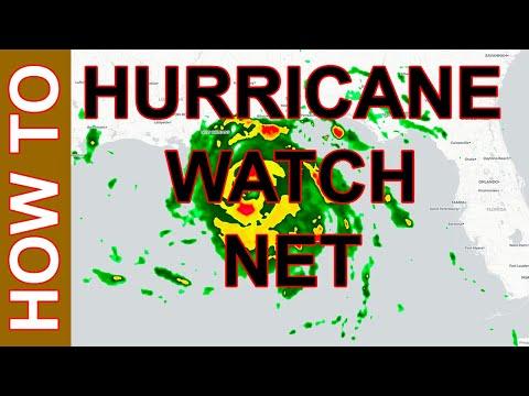 Hurricane Watch Net - How to Monitor an Approaching Hurricane #hurricanewatchnet #hurricane #voipwx
