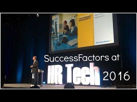 SuccessFactors at HR Tech 2016
