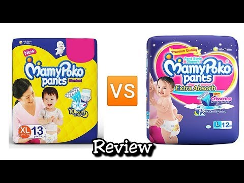 video MamyPoko Pants Standard Pant Diapers Review<span class=