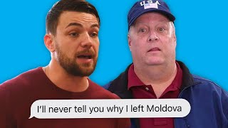 Andrei and Elizabeth Fight with her Family about Moldova | 90 Day Fiancé