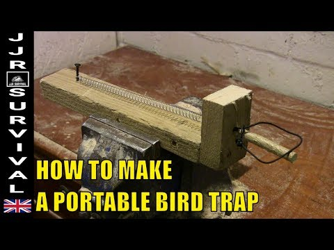 How To Make A Portable Bird Trap